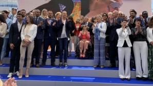 Стефка Костадинова бе сред легендите на спорта при откриването на Олимпийския дом в Лозана