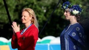 Стефка Костадинова предизвика фурор в Минск (снимки)