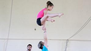 Община Бургас ще осигури средства за подготовката на най-добрите ни акробати