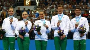 Сребърен медал за българската група в аеробиката на Европейските игри (видео)