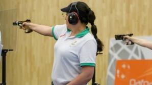 Антоанета Бонева влезе във финала на 25 метра пистолет в Минск, Гроздева отпадна