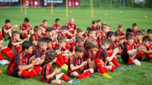 Milan Academy Junior Camp стартира в Панагюрище, идва ред на Несебър (снимки)