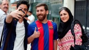 Двойникът на Меси опроверга скандалните информации от Иран