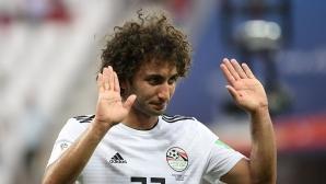 Египетски национал бе отстранен от състава поради неморално поведение