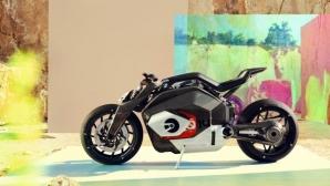 Един BMW Motorrad с електрическо задвижване