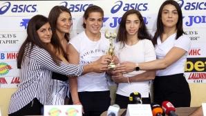 Боркините и Петър Касабов са отбор и треньор №1 за месец април