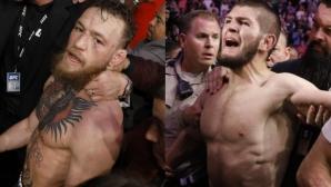 Хабиб предупреди Конър да се сдържа, ако ще посещава UFC 242