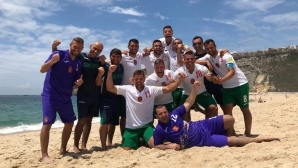 Националите по плажен футбол разгромиха Норвегия с 5:1 и постигнаха голямата си цел