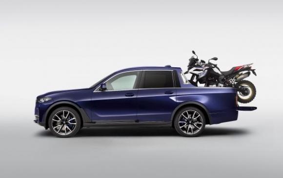 Въображение: BMW X7 като пикап
