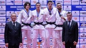 Отлично представяне и 4 медала за българските джудисти на Европейската купа в Сараево