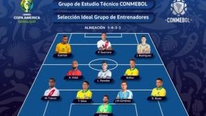 Петима бразилци в идеалния отбор на Копа Америка 2019, Меси отсъства