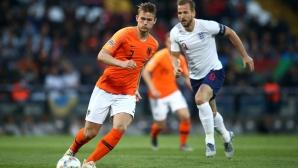 Ювентус вдигна значително офертата за Де Лихт