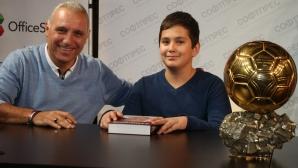 1000 деца чакат Стоичков в Стара Загора