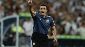 Аржентинската федерация гласува доверие на Скалони