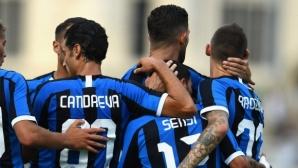Интер дебютира с победа при Конте