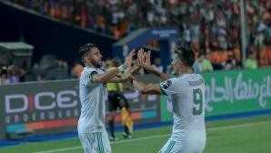 Марез прати Алжир на финал с гол в последната секунда (видео)