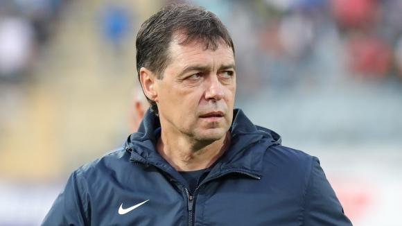 Хубчев след 4:1 над Дунав: Не съм доволен от играта, трябват ни нови хора
