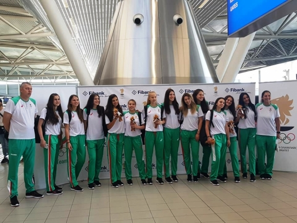 Съставът на България U18 за девойки за Младежкия олимпийски фестивал в Баку