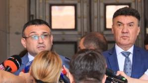 Вътрешният министър вика футболните съдии