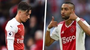 Овермарс: Предложих на Арсенал да продадат Йозил и да вземат Зиеш за половината сума