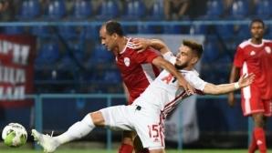 ЦСКА-София играе с доста промени, греда за Титоград