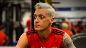 Месут Йозил вече е блондин