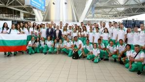 Стефка Костадинова изпрати талантите за олимпийския фест в Баку