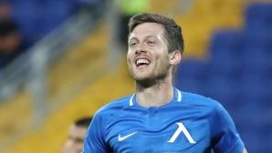Левски отново удари словаците, новата деветка дебютира с красив гол (видео+галерия)