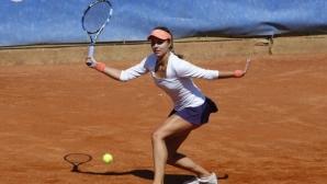 Виктория Томова с драматичен прогрес към полуфиналите в Биариц