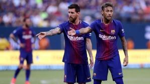 Меси преподписва с Барселона срещу завръщане на Неймар