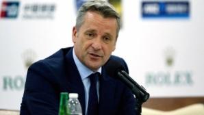 Президентът на АТР поздравявал само Федерер, Джокович, Надал и Вавринка