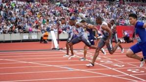 Изненадващ победител на 100 м в Лондон