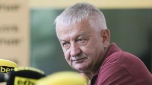 Крушарски: Готвим нападение с комари срещу Спартак, ще им разкажем играта