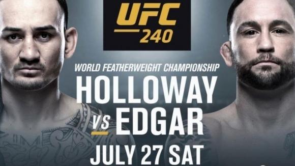 UFC 240: Обратно броене (видео)