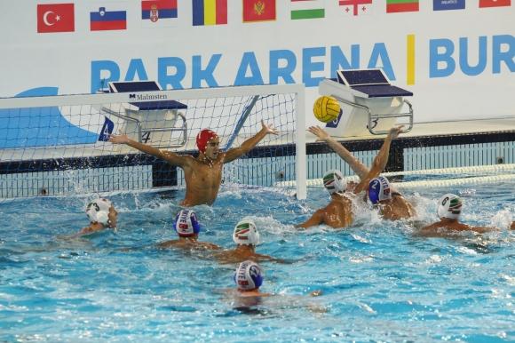 Втора загуба за България на Европейското първенство по водна топка