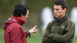Арсенал не пуска Косиелни в Рен
