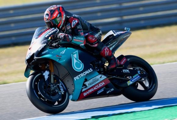 Куартараро засенчи Маркес във втората тренировка от MotoGP в Чехия