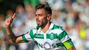 Тотнъм изпрати пратеници в Лисабон, които ще се опитат да измъкнат Фернандеш изпод носа на Юнайтед
