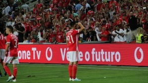 5:0! Бенфика се подигра със Спортинг в последния мач на Бруно Фернандеш (видео)
