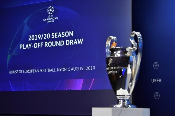 Вижте жребия за плейофите за влизане в групите на Шампионската лига