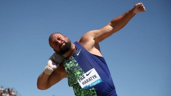 Харатик изравни полския рекорд на гюле - 22.32 метра