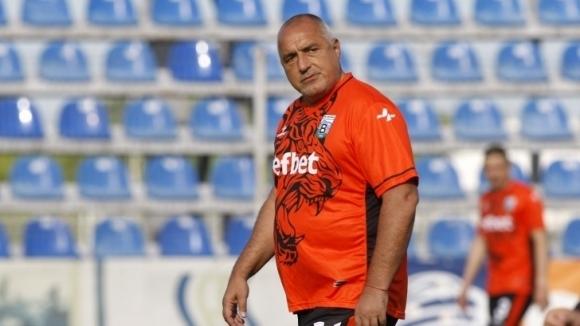 Бойко Борисов с профил като футболист в играта FIFA Manager