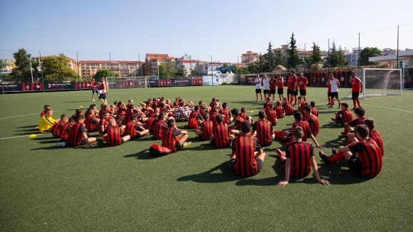 Откриха 10-ото юбилейно издание на Milan Academy Junior Camp Bulgaria в Несебър
