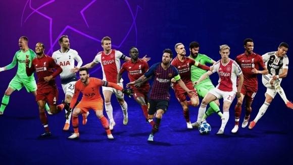 УЕФА обяви номинациите си за най-добри играчи по постове в ШЛ за сезона