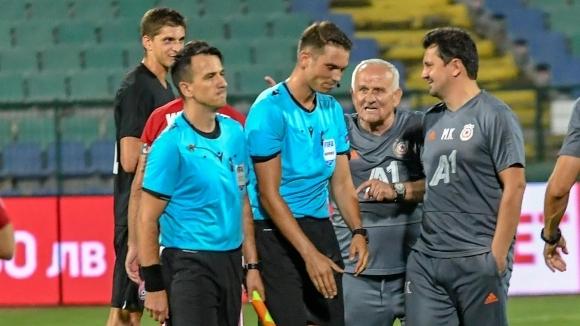 В Зоря объркаха превода, набедиха треньора на ЦСКА-София за скандалджия