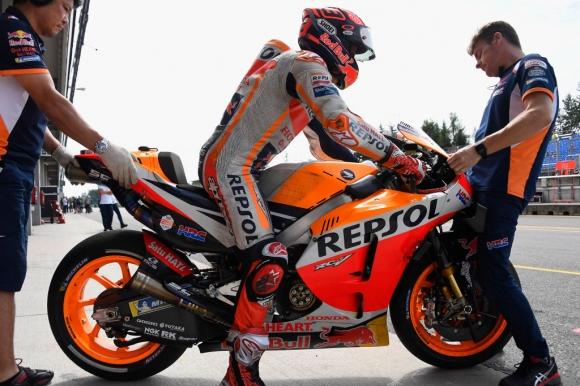Маркес пред Винялес с 0.066 сек във втората MotoGP тренировка в Австрия