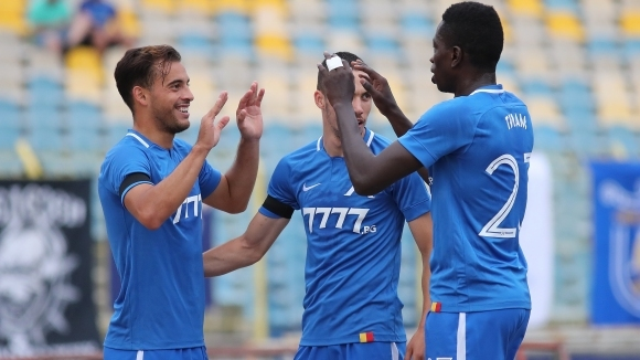 Хубчев и Павел Колев се скъсаха да хвалят бивш футболист на Левски (видео)