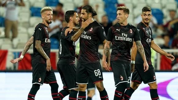 Милан с първа победа при Джампаоло, надви шампиона на Косово (видео)