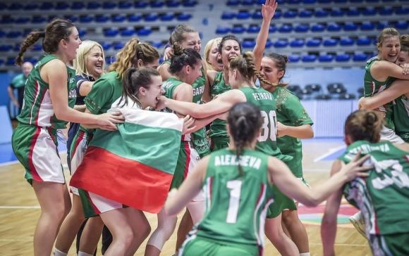 """България спечели европейското първенство по баскетбол за жени до 20 години в дивизия """"В"""""""