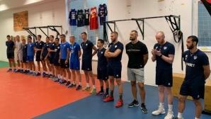 Левски София стартира подготовка с 16 състезатели (видео + снимки)